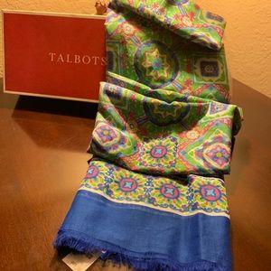NWT Talbots Scarve